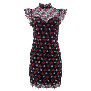 Sandro Lace Star Dress