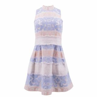 Alexis Lace Embroidered Dress