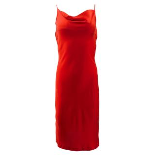 Regina Rubens Silk Red Dress
