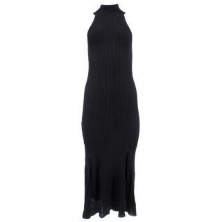 By Malene Birger Black Long Jersey Dress