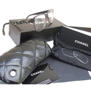 Chanel Tweed Glasses Frame