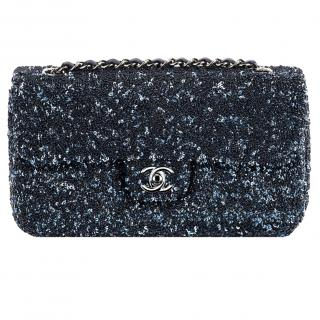 Chanel Embroidered Flap Bag