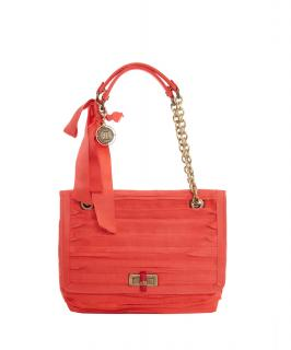 Lanvin Happy Coral Shoulder Bag