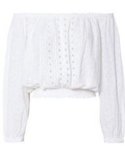 Melissa Odabash Adriana white top
