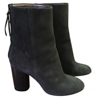 Isabel Marant khaki suede boots