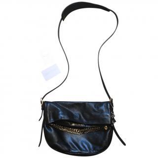 Jimmy Choo leather biker bag