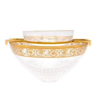 Saint Louis Gold Thistle Caviar Set
