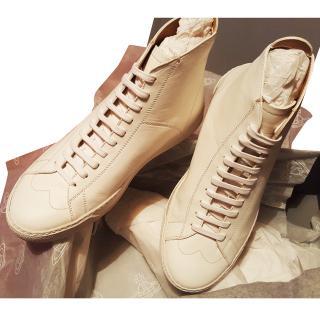Vivienne Westwood white high tops