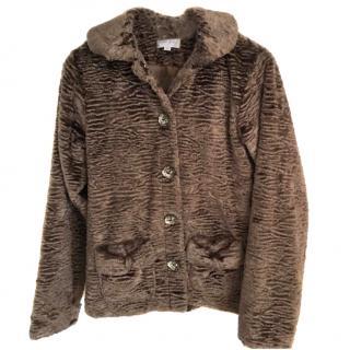 Rachel Riley Faux Fur Jacket