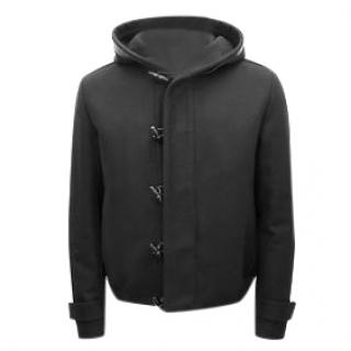 Dior Back Wool Duffle Coat/jacket