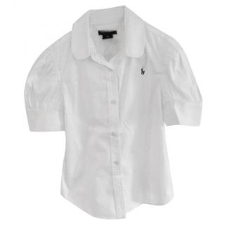 Ralph Lauren White Blouse