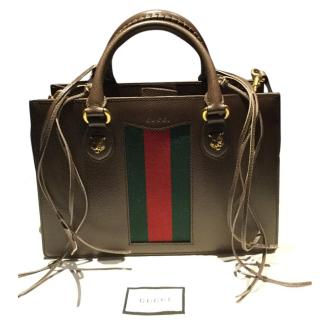Gucci Animalier leather top handle bag