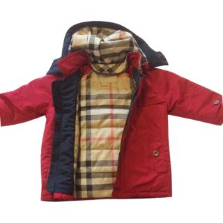 Burberry red kid's jacket