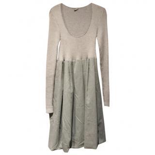 Joseph grey wool easy wear  dress