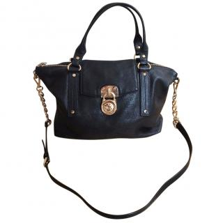 Michael MICHAEL KORS Black leather Tote handbag