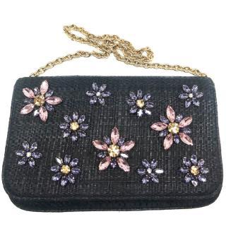 Dolce & Gabbana crystals shoulder bag/ clutch NEW