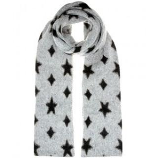 Saint Laurent knitted star scarf