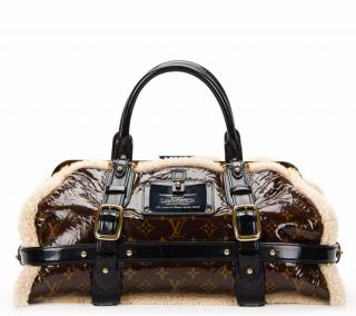 Louis Vuitton Brown Patent Leather