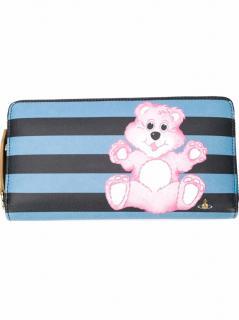 Vivienne Westwood Zipped Teddy Print Wallet