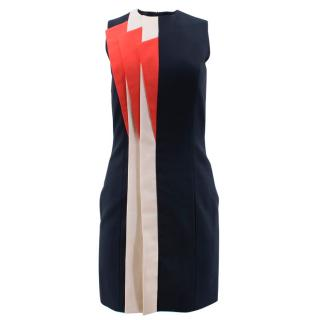 Claudia Gamba x Muuse Futurism Mini Dress with Pleats