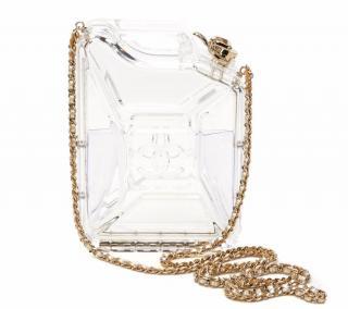 Chanel Clear PlexiGlass Dubai