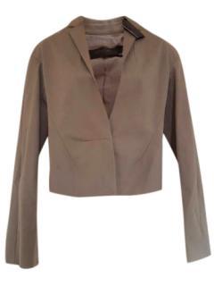 Calvin Klein Collection Cropped Jacket