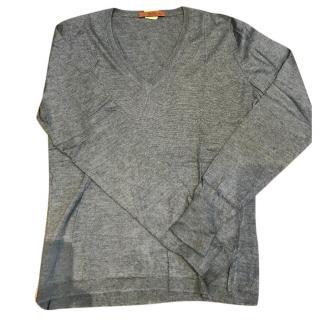 Etro Wool V Neck Sweater