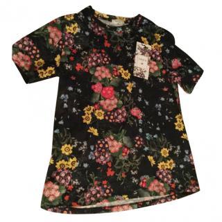 Erdem X H&M Black Floral Shirt
