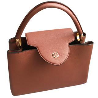 Louis Vuitton Capucine MM Terra Bag