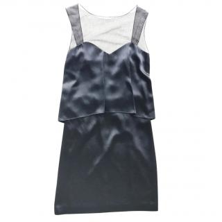 Maison Margiela Black Satin Dress