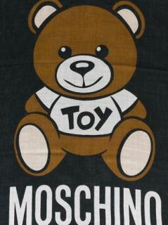 Moschino Bear Scarf