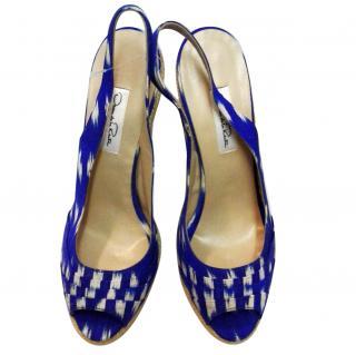 OSCAR DE LA RENTA Slingback sandals
