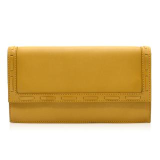 Quidam Leather Yellow Clutch