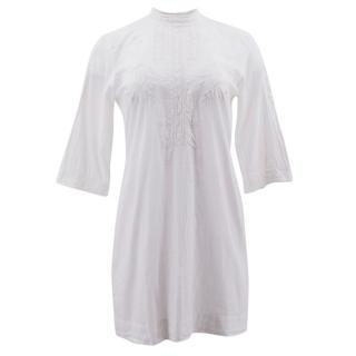 Malene Birger Embroidered White Tunic