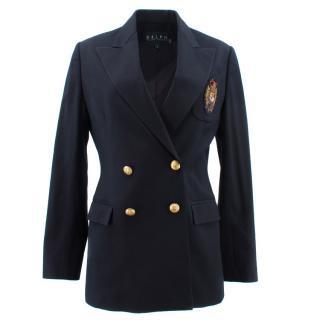 Ralph Lauren Embroidered Blazer Jacket