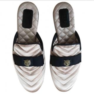 Gucci Princeton Satin Slippers