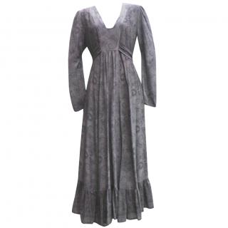 Anonymous by Ross & Bute Long Silk Dress