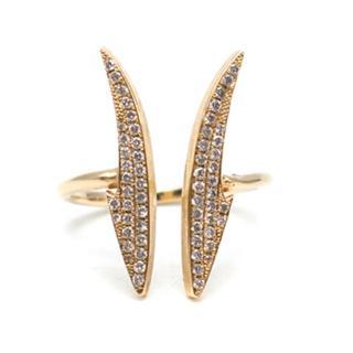 Stephen Webster 14K Gold Diamond Ring