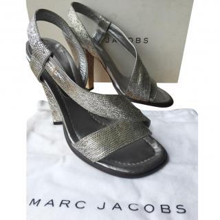 Marc Jacobs Silver Sandals