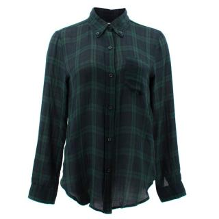 Isabel Marant Etoile Checked Wool Shirt