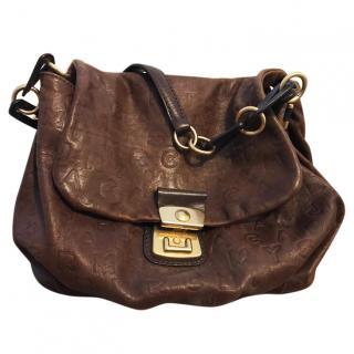Marc By Marc Jacobs Brown Shoulder Bag