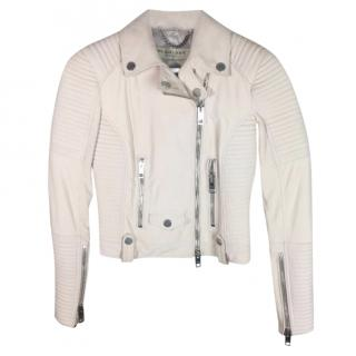 Burberry Pink Suede Jacket