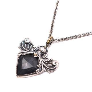 Stephen Webster Verne Sterling Silver Pendant Necklace