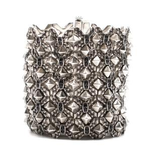 Stephen Webster Silver Stud Cuff Bracelet