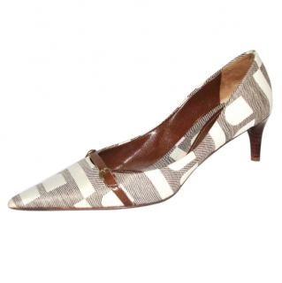 Bally Adelfia Monogrammed Pumps