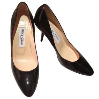 Jimmy Choo Patent Leather Stilettos