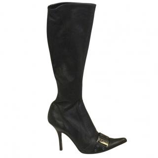Dior Knee High Boots