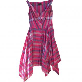 Vivienne Westwood Anglomania Pink Check Dress