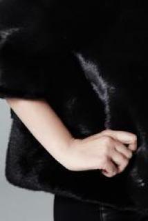 Lilly e Violetta Sarah 60cm Black Mink Jacket
