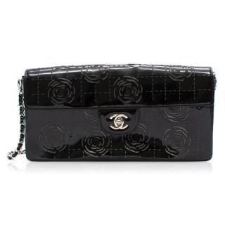 Chanel Camelia Laser Cut Chain Flap Bag